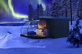 Glass Igloo Northern Lights These Glass Igloos Are The Ultimate Way To See The Northern