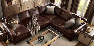 restoration hardware leather couch. Great Lancaster Leather Sofa 108 Collins Sofas Click To Restoration Hardware Couch M