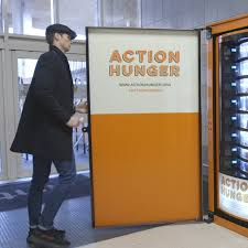 Fundraising Vending Machines Classy Vending Machine Provides For The Homeless NowThis