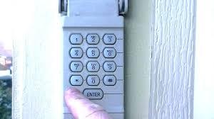 keypad garage door opener genie garage door keypad stopped working wired keypad garage door opener large