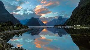 Zealand, lake, mountains 2880x1800 HD ...
