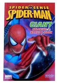 Spiderman or spider man coloring book. Spider Man Giant Coloring Activity Color Activities Spiderman Book Activities
