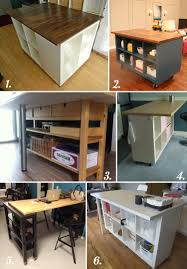 Ikea Hacks Kitchen Island Diy Cutting Table Ideas For Your Sewing Studio Crafting Craft