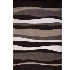 home dynamix bazaar zag dark brown 8 ft x 10 ft indoor area rug