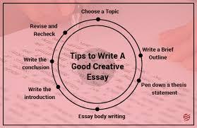 how to write a good creative essay