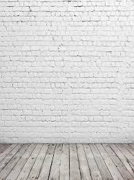 wood floor and wall background. Katebackdrop:Kate White Bricks Wall Background Wooden Floor Photo Backdrops Wood Floor And Wall Background