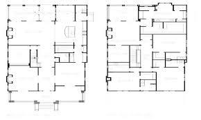 modern foursquare house plans floor