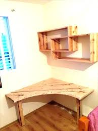 wall mounted corner desk lovely how to make a diy