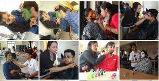 face painting competition was held on 10 02 2016 in ibmr ips academy more than 70 students partited with appreciable presentations on saving girl