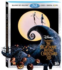 The Nightmare Before Christmas' Debuts on Disney Blu-Ray 3D
