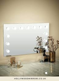 full image for hollywood lighted mirror hollywood mirror wall mounted xl makeup mirror with