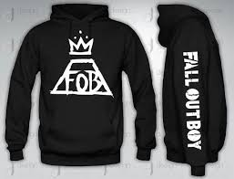 Fall Out Boy Merch Size Chart Fall Out Boy Fobhoodie Hood Crewneck By Designandclothing On