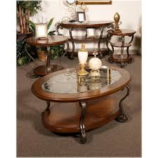 t517 0 ashley furniture nestor medium brown living room cocktail table