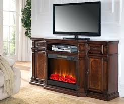 72 inch cherry media fireplace with tv and fireplace lit room view entertainment centers with electric fireplaces real flame valmont entertainment center