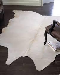 pure white cowhide rug pure cowhide rug