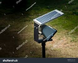 Small Solar Panels For Lights Small Solar Panel Unit Lighting Garden Stock Photo Edit Now