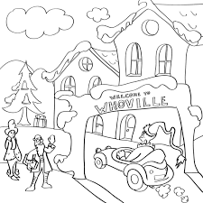 By best coloring pagesjuly 5th 2013. Grinch Christmas Printable Coloring Pages Holidappy Celebrations