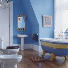 Dark Blue Bathroom Blue Bathroom Ideas Dark Brown Lacquered Wooden Counter Top And