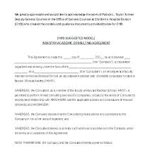 Simple Consulting Contract Template Free Consulting Agreement