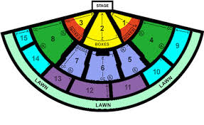 Great Woods Seating Chart Quality Seating Chart Thread Phish Discussion Topic On