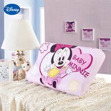 Pink Minnie Mouse Memory Pillows 40x25cm Bedroom Decoration Girls