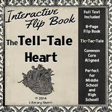 best literature edgar allan poe images high  tell tale heart by edgar allan poe interactive flipbook