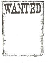Free Wanted Poster Template For Kids Wanted Poster Template For Kidsclassroom Books Worth Reading 1