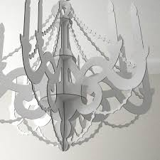 chandelier hanging party decoration