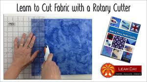 How to Cut Fabric with a Rotary Cutter for Quilt Making - YouTube & How to Cut Fabric with a Rotary Cutter for Quilt Making Adamdwight.com