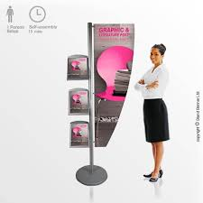 Free Standing Literature Display Interesting Freestanding Literature Display Advertising Dispenser Stand