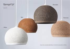 sponge up spanish handmade pendant lights clay pendant lights by pott from davoluce lighting