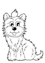 15 Kleurplaten Honden En Puppies Krijg Duizenden Kleurenfotos Van