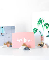 diy mini mountain photo holders
