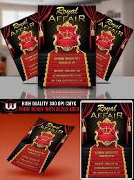 Royal Party Invitation Royal Affair Flyer King Birthday Etsy