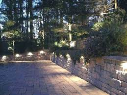 light low voltage outdoor wall lights best of landscape retaining lighting led