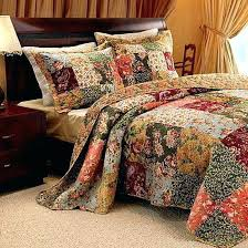 Floral Quilts And Coverlets Oversized King Bedspread Luxury 100 ... & Floral Quilts And Coverlets Oversized King Bedspread Luxury 100 Cotton  Floral Vintage Quilt Set 120 X Adamdwight.com