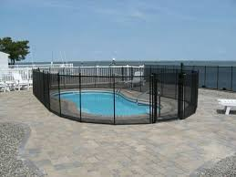 safety pool fence. Polyester Fence - Pool Enclosure In Philadelphia, PA Safety