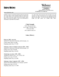 Including Salary Expectations In Cover Letter Williamson Ga Us