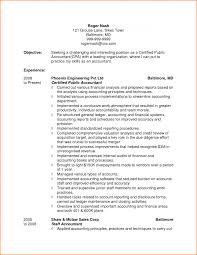 Amusing Accounting Resume Accountant Objective Skills Based