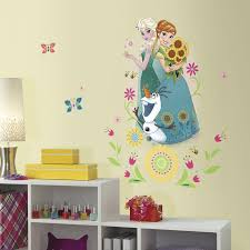 unusual frozen wall decor minimalist disney unique decoration and decorating kit target decals canada south