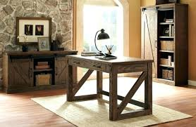 rustic desk home office. Home Office Desk Canada Rustic Furniture Interesting Design Ideas Plain Best Desks E