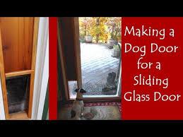 dog door for the sliding glass door