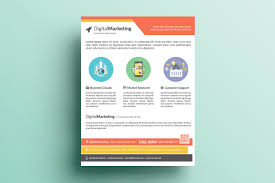 Marketing Flyer Creative Marketing Flyer V24 Flyer Templates Creative Market 2