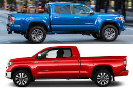 2019 Toyota Tacoma vs. 2019 Toyota Tundra: What's the Difference ...
