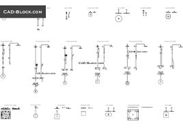V Block Fixture Design Bathroom Showers Autocad Blocks For Free Download