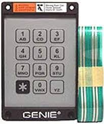genie garage door opener replacement keypad and ribbon for kep 1