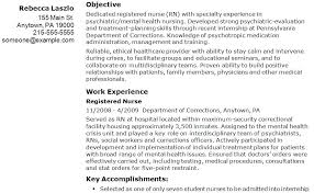 Professional Objective For Nursing Resume Famous Sample Objectives Nursing Resume Images Resume Ideas 94