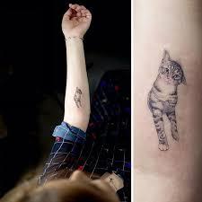 19 Nápaditých Kočičích Tetování Moderní Děvčecz