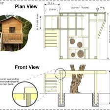 Free Treehouse Plans and Designs Awesome Free Treehouse Plans and