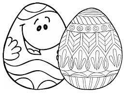 Easter Eggs To Colour And Print Kids Coloring Europe Travel